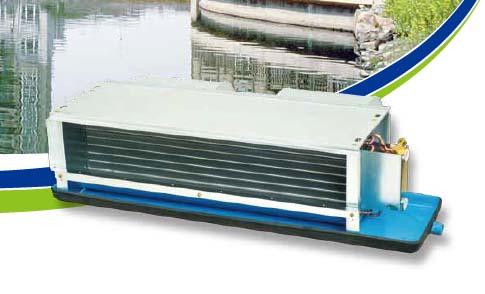 开利42CE风机盘管型号、尺寸与技术参数