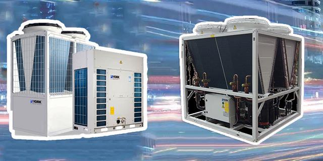 约克YCAE045/065/100/130KW风冷冷水/热泵机组型号及技术参数
