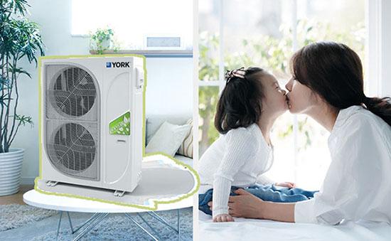 约克家用中央空调有几种型号?约克YCAG、YVAG和YVAS有什么区别?