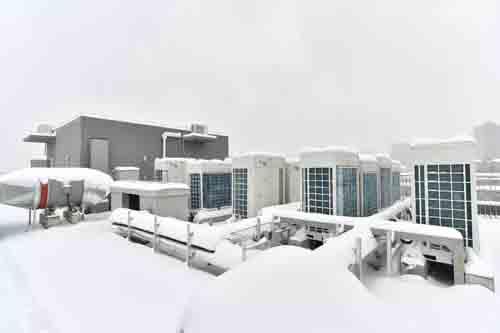 格力LM系列高效风冷螺杆机为华科光电信息大楼保驾护航