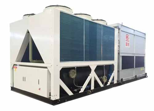 浙江国祥一体式蒸发冷热泵机组及末端为武汉联特科技定制方案