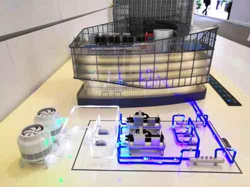美的中央空调M-BMS智慧楼宇系统  亮相2019年中国家电及消费电子博览会