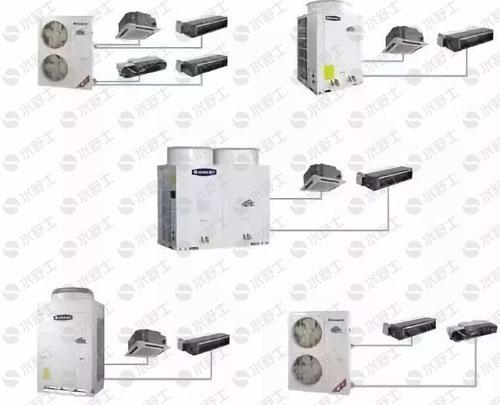 空调多联机和风管机有什么不同?怎样快速区分多联机和风管机?